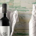 wine bottle tissue paper wrap
